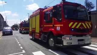Défilé congrès des Sapeurs Pompiers du Cher / SDIS 18
