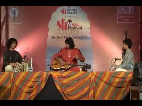 Pt. Salil Bhatt and Cassius Khan, Shri Music Festival, Jaipur,India, December 7th, 2012