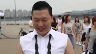 Psy:съёмки клипа Gangnam Style