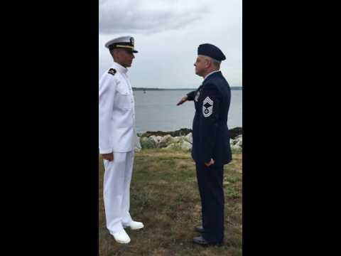 First salute
