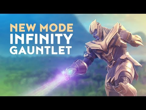 NEW THANOS INFINITY GAUNTLET GAME MODE! (Fortnite Battle Royale)