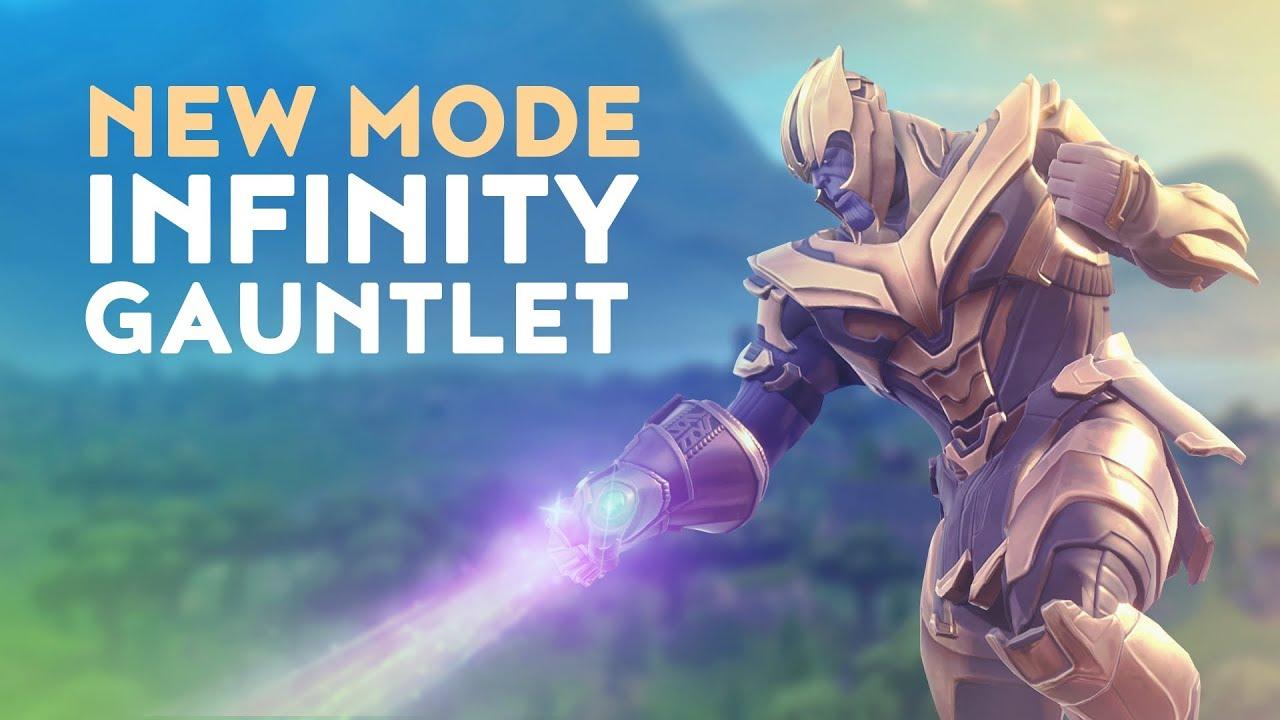 New Thanos Infinity Gauntlet Game Mode Fortnite Battle