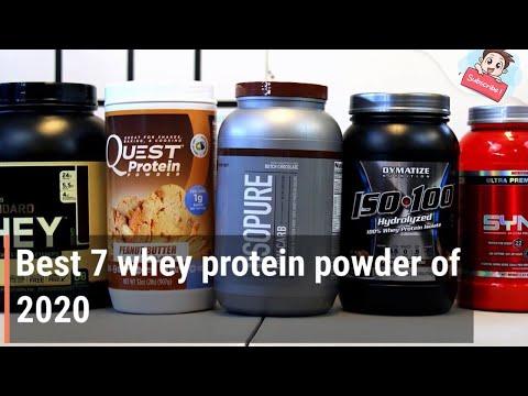 Best 7 whey protein powder 2020