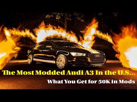 The Most Modded Audi A3 In The U.S.