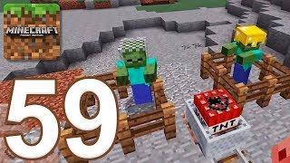 Minecraft: Pocket Edition - Gameplay Walkthrough Part 59 - Survival (iOS, Android)