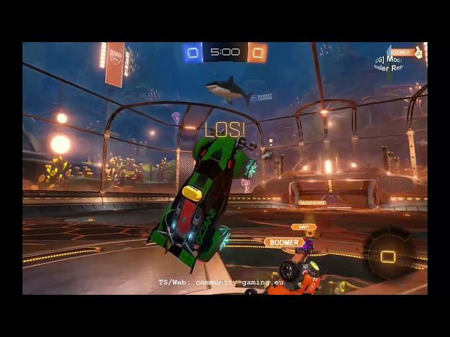 Rocket-League: Blacky schwer Verletzt | Folge #018 | Let's Play Mini-Games