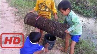 Удивительная Рыбалка В Провинции Пайлинь - Традиционная Рыбалка В Камбодже - Khmer Net Fishing (Час