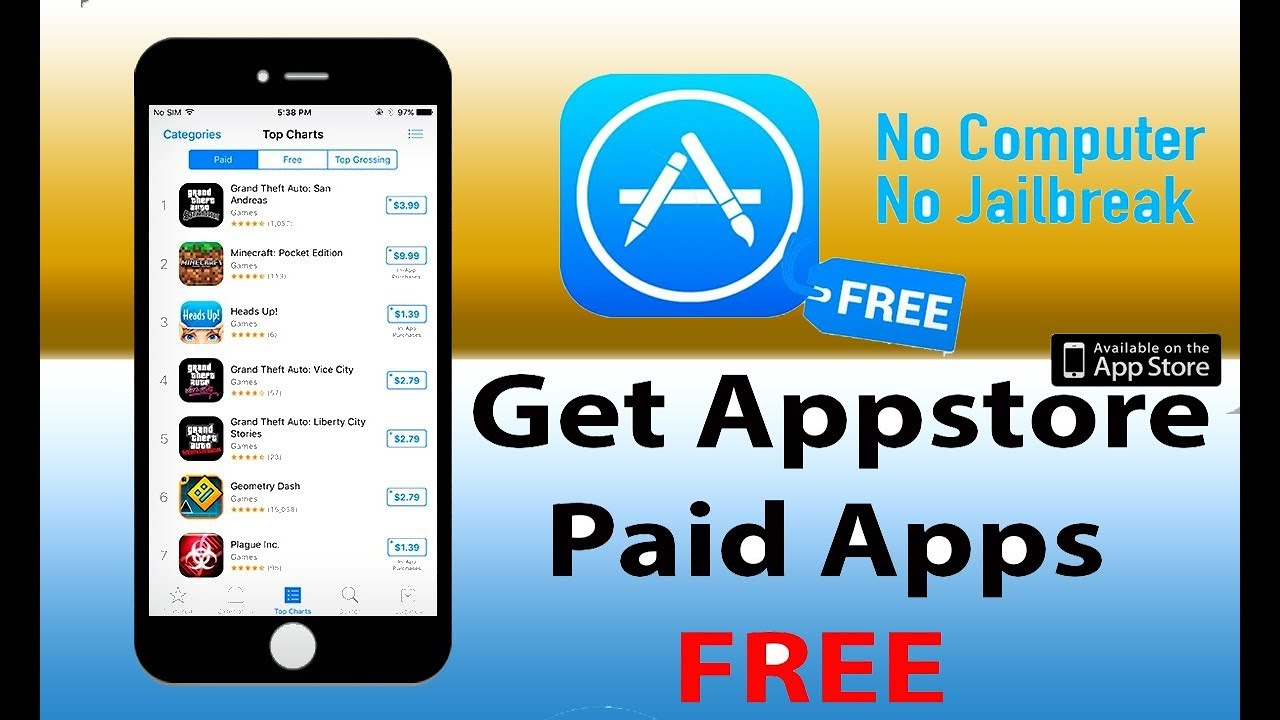 How to get paid apps for free without jailbreak | gadget review.