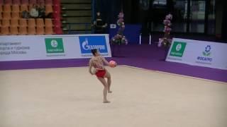 Selen Bektas (TUR)  ball  Grand Prix Moscow 2017
