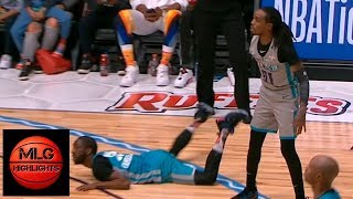 Famous Los 5-point play on Quavo ! 2019 NBA All-Star Celebrity Game