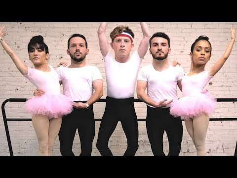 WE MASTERED BALLET! BECOMING BALLERINAS! (SPANDEX)