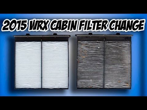 how to change cabin air filter