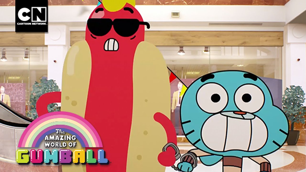 hot pursuit gumball cartoon network youtube