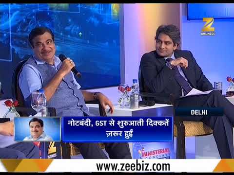Ministerial Conclave: Sudhir Chaudhary discusses ground reality with Nitin Gadkari