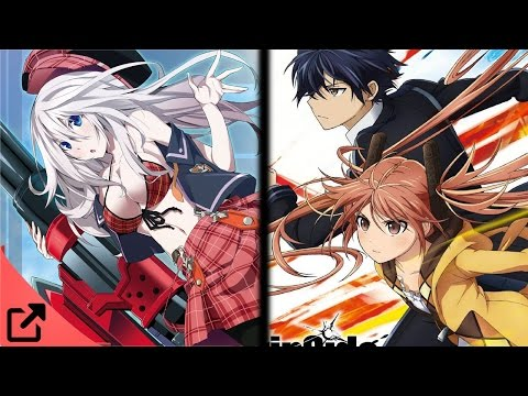 Top 5 Animes Similar to God Eater
