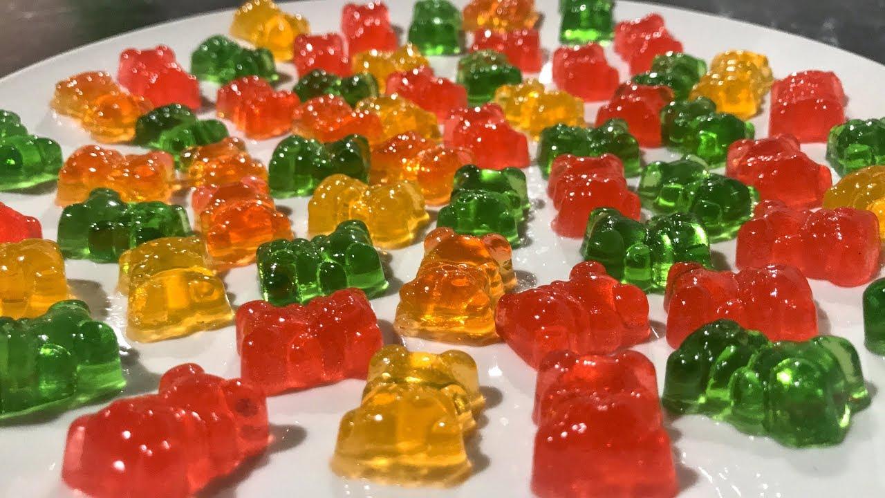 Домашние желейные конфеты как магазинные - YouTube
