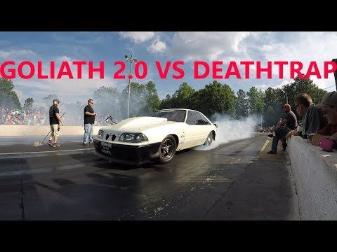 Daddy Dave Goliath 2.0 VS Chuck Deathtrap Holiday Raceway | STREET OUTLAWS