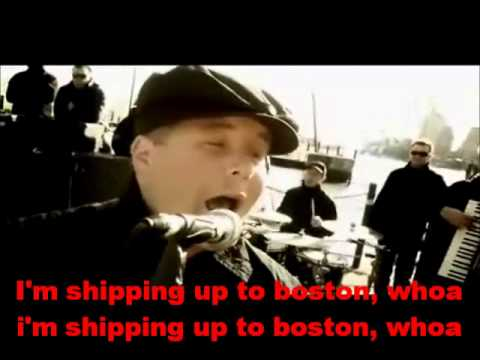 dropkick murphys im shipping up to boston karaoke
