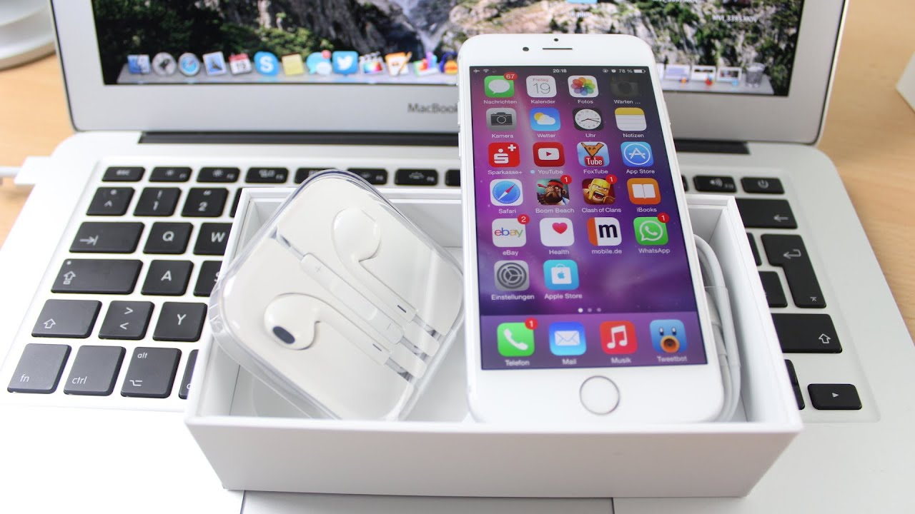 iphone 6 16gb iphone 6 16gb silver unboxing amp look 11275