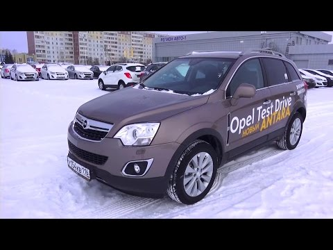 2014 Opel Antara Cosmo. 2.2 CDTI 4x4. Start Up, Engine, and In Depth Tour.