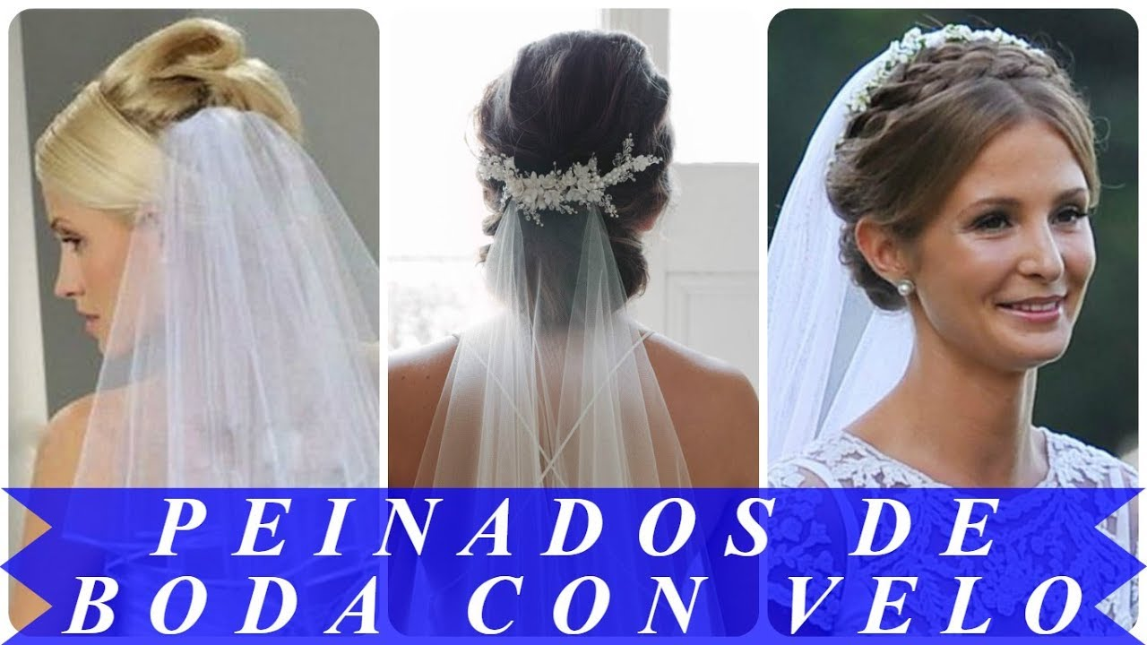 Videos de peinados altos para novias