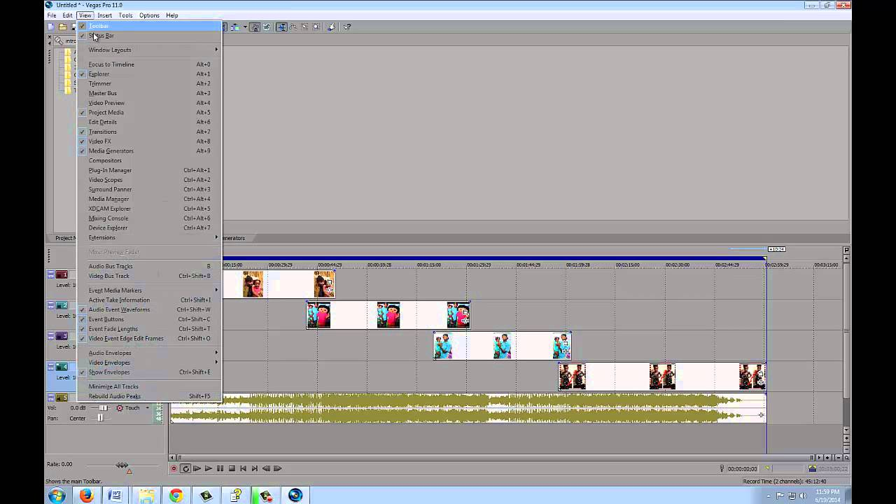 Sony vegas video editor