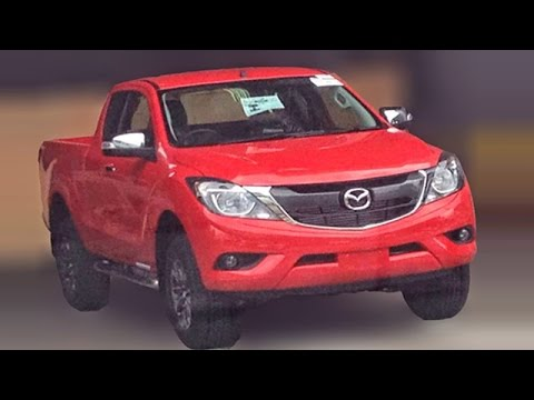 2016 Mazda Bt 50 Pickup Truck Spied Clearly
