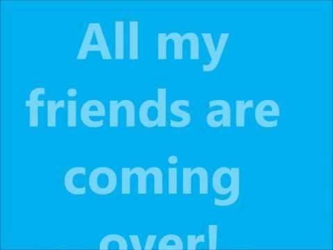 Jacob Sartorius - All My Friends - Lyrics