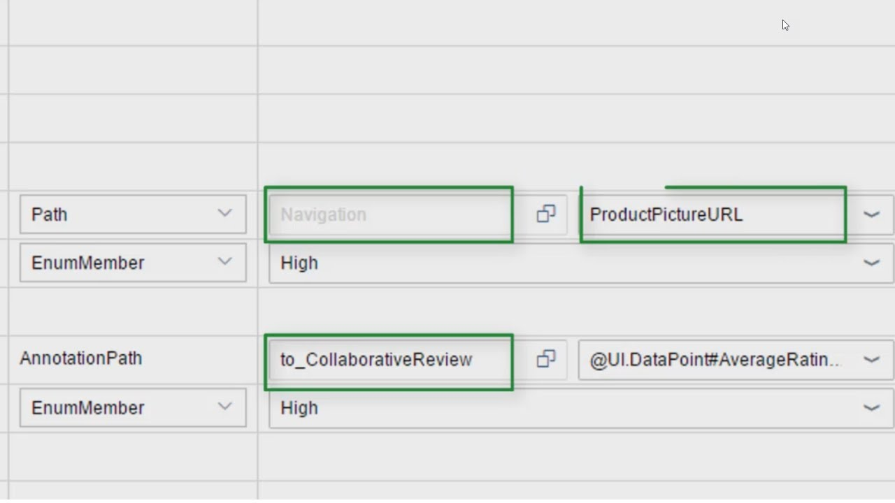 Defining Path Values with the Annotation Modeler