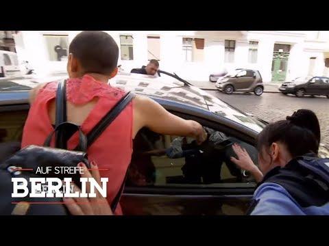 Streit ums Navi - Arm im Auto eingeklemmt   Auf Streife - Berlin   SAT.1 TV