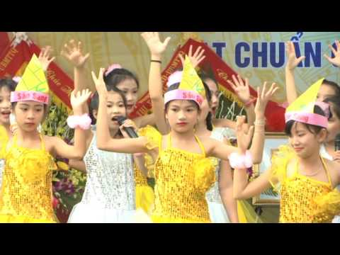 Trường Tiểu học Quang Tiến đón chuẩn Quốc gia mức độ 2 và khai giảng năm học mới 2016-2017