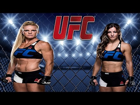 Holly Holm TRAINING MUAY THAI For Miesha Tate Fight in UFC