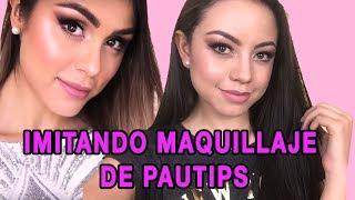 IMITANDO EL MAQUILLAJE DE PAUTIPS| MAQUILLAJE COLOMBIANO - GELA