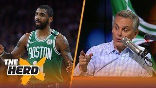 Colin talks Kyrie becoming a flake, LeBron's impact on LaVar Ball in Los Angeles | NBA | THE HERD