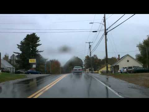 Driving Through Maine: I-295, US-201, Gardiner, Augusta