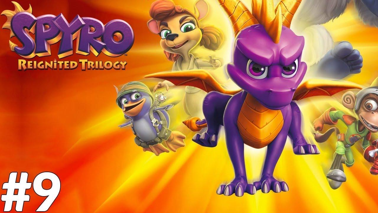 Spyro: Year of the Dragon (PS4) #9 - Baza sierżanta Lota