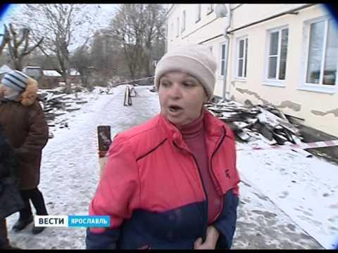 Жители Гаврилов-Яма боятся остаться без крыши зимой