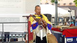 SF Indian Market 2019 - Robert Tree Cody Performs on SF Plaza  - Nights in White Satin