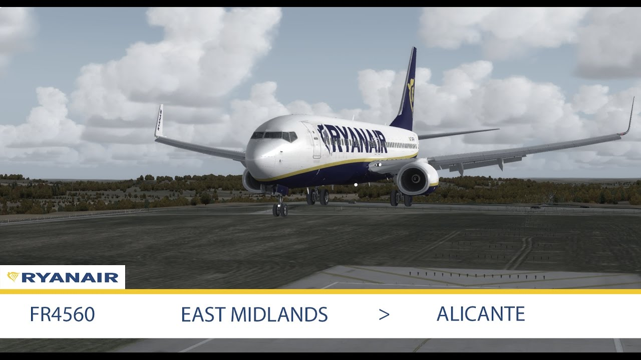 flights to alicante east midlands