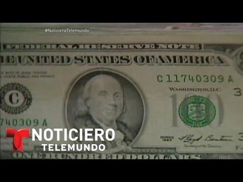 Peso mexicano por los suelos por la bajada del petróleo | Noticiero | Noticias Telemundo