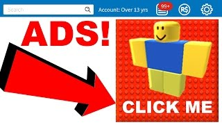 WHAT HAPPENS IF YOU CLICK ROBLOX ADS?