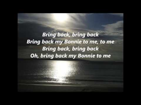 Celtic Songs My Bonnie Lies over the Ocean words lyrics best top popular favorite sing along song