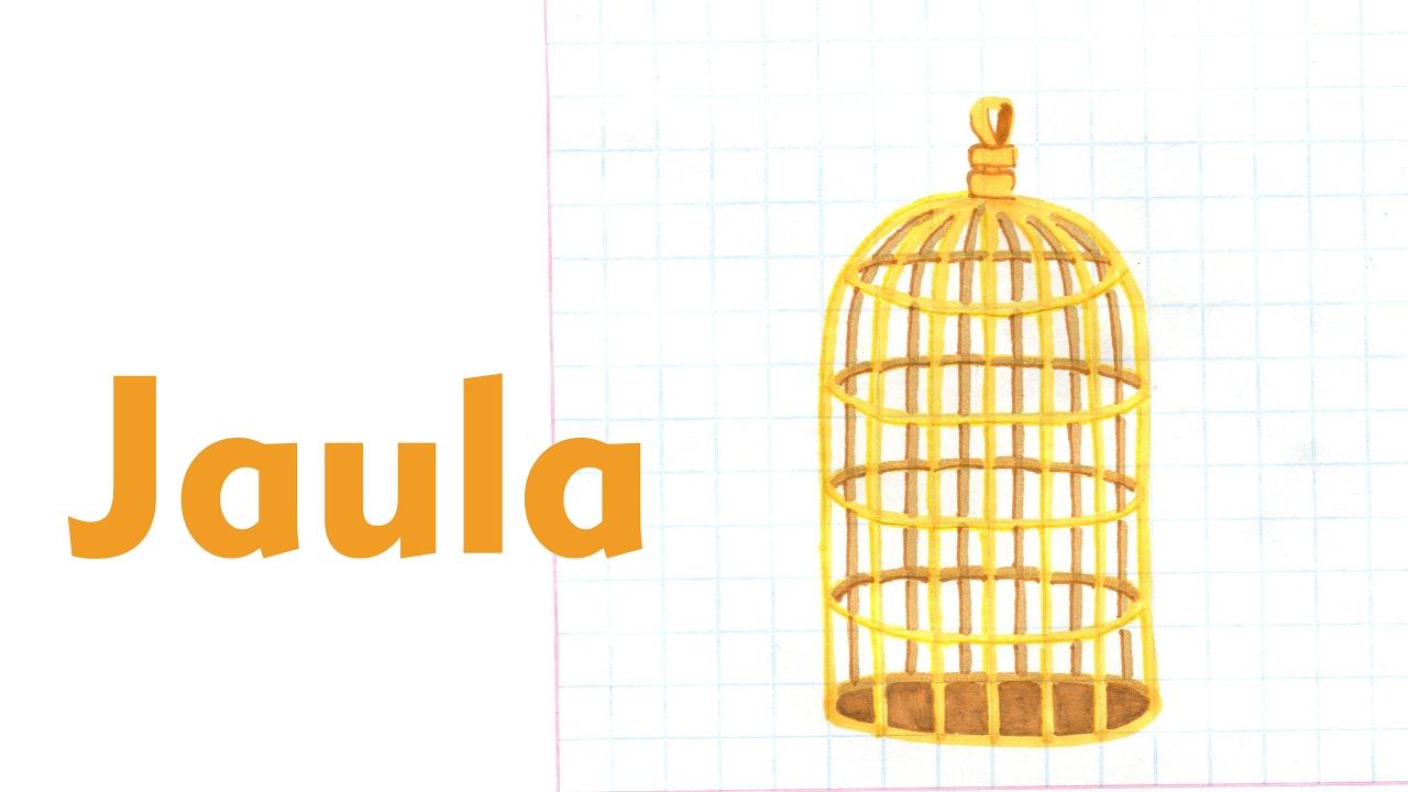 Como dibujar una jaula para aves muebles casa tutorial for Casas para dibujar