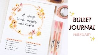plan with me bullet journal