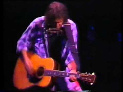 Neil Young   Freedom   acoustic concert 1989