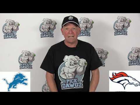 Denver Broncos vs Detroit Lions NFL Pick and Prediction 12/22/19 Week 16 NFL Betting Tips