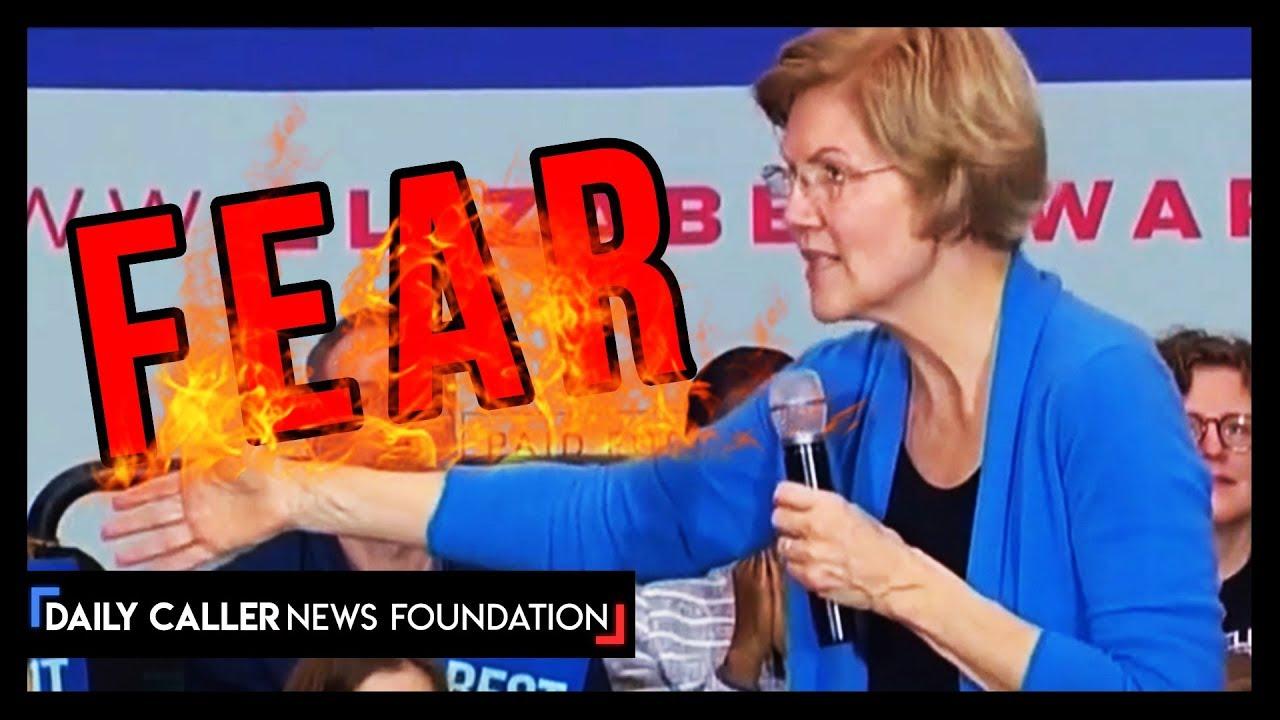 """Supercut: Warren Can't Stop Saying """"Afraid"""""""