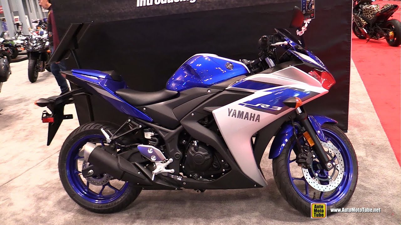 2015 yamaha yzf r3 walkaround 2014 new york motorcycle show youtube. Black Bedroom Furniture Sets. Home Design Ideas