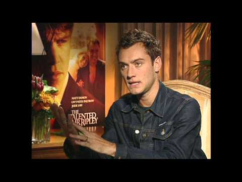The Talented Mr. Ripley: Jude Law Exclusive Interview