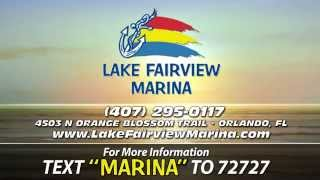 Marina and Boat Sales Orlando Florida Pontoon Boats http://www.LakeFairviewMarina.com